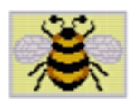 Bumble Bee Loom or Square Stitch