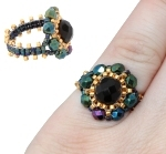 Florence Beaded Ring