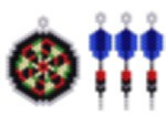 Darts and Dart Board Charms