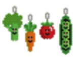 The Veggies Earring
