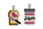 Bread and Jam Earring