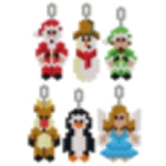 Small Christmas Character Earring