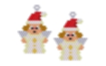 Santa Angel Earring