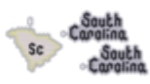 South Carolina State Earring