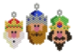 3 Wise Men Kings Charms