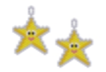 Happy Star Earring