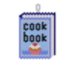 Cook Book Pendant