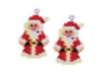 Old Fashioned Santa Earring