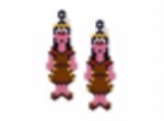 American Indian Girl Earring