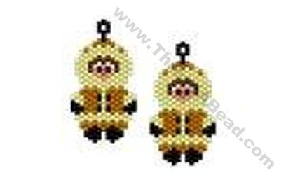 Eskimo Earring Bead Pattern By Threadabead