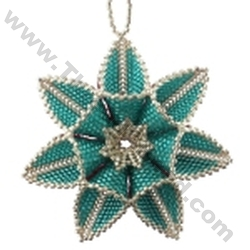 Double Sided Polar Star Ornament Pattern Bead Pattern By