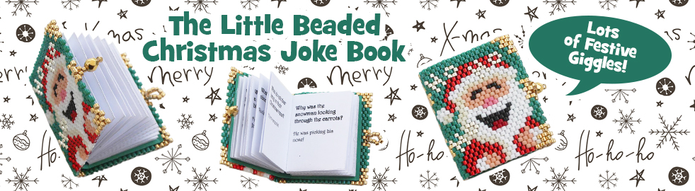 The Little Beaded Christmas Joke Book Bead Pattern