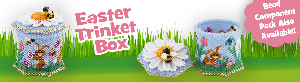 Easter Trinket Box Bead Component Pack
