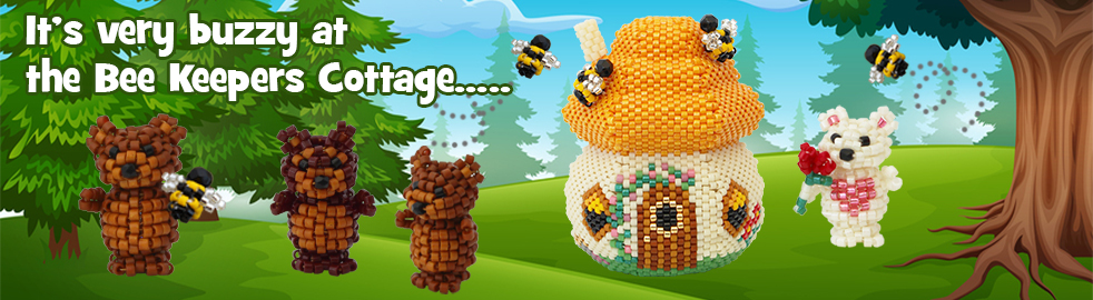 ThreadABead Bee Keepers Cottage Bead Pattern