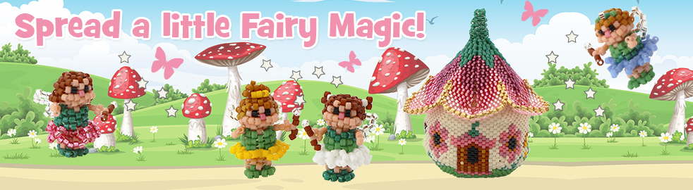 ThreadABead 3D Flower Fairy Secret House Ornament Bead Pattern