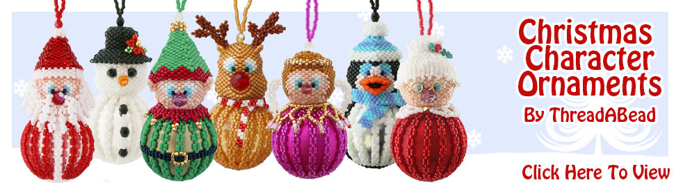 Mrs Claus Bauble Ornament Bead Pattern