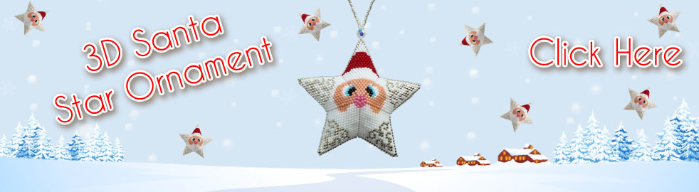 Santa Star Bead Pattern