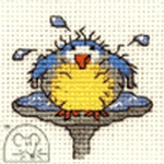 Mouseloft Stitchlets After The Bath Cross Stitch Kit