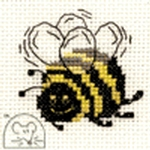 Mouseloft Stitchlets Bee Cross Stitch Kit