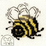 Mouseloft Stitchlets Bee Cross Stitch Kit