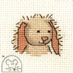Mouseloft Stitchlets Cuddly Bunny Cross Stitch Kit