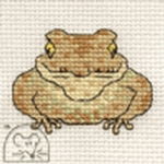 Mouseloft Stitchlets Toad Cross Stitch Kit