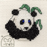 Mouseloft Stitchlets Panda Cross Stitch Kit