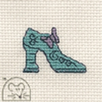 Mouseloft Stitchlets Funky Shoe Cross Stitch Kit
