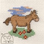 Mouseloft Stitchlets Pony Cross Stitch Kit