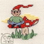 Mouseloft Stitchlets Elf Cross Stitch Kit