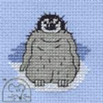 Mouseloft Stitchlets Baby Penguin Cross Stitch Kit