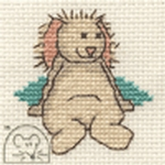 Mouseloft Stitchlets Old Friend Bunny Cross Stitch Kit