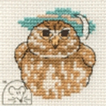 Mouseloft Stitchlets Little Owl Cross Stitch Kit