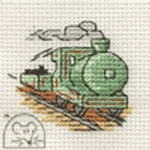Mouseloft Stitchlets Steam Train Cross Stitch Kit