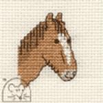 Mouseloft Stitchlets Horse Cross Stitch Kit