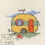 Mouseloft Stitchlets Caravan Cross Stitch Kit