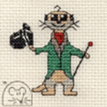 Mouseloft Stitchlets Aristo-kat Cross Stitch Kit