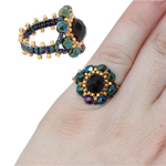 Florence Beaded Ring Complete Kit by ThreadABead