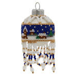 Winter Village Miniature Christmas Bauble Ornament