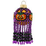 Halloween Pumpkin Bauble Ornament