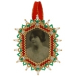 Victorian Photo Frame Ornament