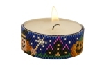 Halloween Tea Light Candle Bead Pattern