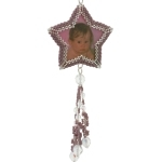 Twinkle Twinkle Shooting Star Photo Frame Ornament