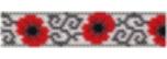 Modern Poppy Bracelet