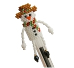Snowman Pen Topper Pattern