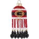 Santas Buckle Christmas Bauble Ornament