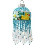 Easter Duck Pond Bauble Ornament