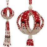 Snowman Parade Ball Christmas Ornament