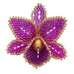 3D Orchid Brooch