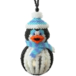 Brrr The Penguin Bauble Ornament Pattern